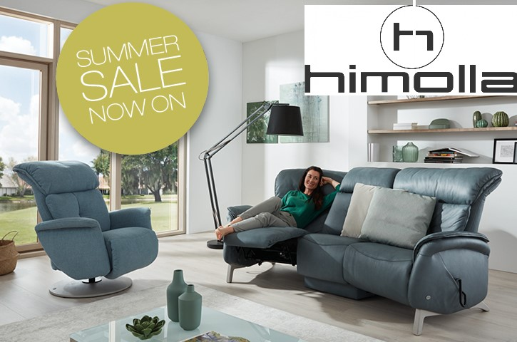 Extra savings on Himolla during our Summer Sale
